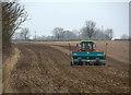 TA1056 : Seed drilling near Gembling by Paul Harrop