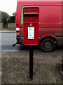 TM2482 : London Road Postbox by Adrian Cable