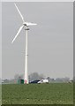 TA1154 : Turbine at Westfield Farm, near Beeford by Paul Harrop
