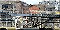 J3474 : New Lagan weir footbridge, Belfast - March 2015(20) by Albert Bridge