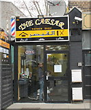 TQ2081 : Barber's shop, Horn Lane, North Acton by David Hawgood