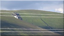 NN6681 : Snow patch, Coire Uilleim by Richard Webb