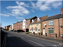 TF0920 : New housing in Manning Road, Bourne, Lincolnshire by Rex Needle