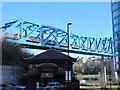 NZ2463 : The Queen Elizabeth II Metro Bridge above Forth Banks, NE1 by Mike Quinn