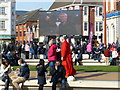 SK5804 : Crowds gather in Jubilee Square by Mat Fascione