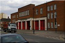 TQ1980 : Acton Fire Station, Gunnersbury Lane by Christopher Hilton