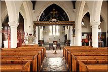TQ2976 : Christ Church, Union Grove - East end by John Salmon