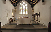 TQ2976 : Christ Church, Union Grove - Sanctuary by John Salmon