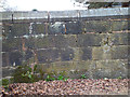 SO9189 : Churchyard wall, St Mark's, Vicarage Lane, Pensnett by Robin Stott