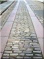 NZ2463 : Horse-drawn cart tracks in Hanover Street, NE1 (2) by Mike Quinn