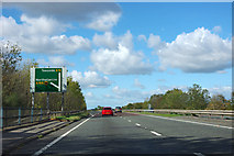 SE4283 : A19 - sign for A168 turn off by Robin Webster