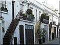 TQ2480 : Houses in Holland Park Mews, London by Janusz Lukasiak