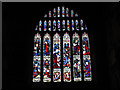 SE1633 : Bradford Cathedral: west window by Stephen Craven