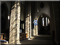 SE1633 : Bradford Cathedral: south aisle by Stephen Craven