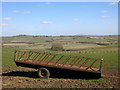 SP6812 : View north of Camp Farm by Des Blenkinsopp