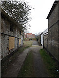 TM3863 : Path to Abbots Grange Housing Estate by Adrian Cable