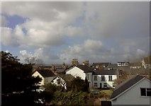 ST0207 : Houses around Cullompton church by David Smith