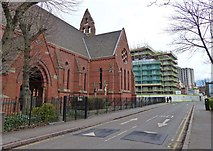 SK5803 : St Andrew's Church on Jarrom Street, Leicester by Mat Fascione
