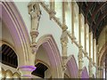 SJ8796 : The Saints, Gorton Monastery Great Nave by David Dixon