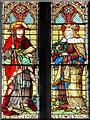 SJ8796 : Stained Glass Window Detail, Gorton Monastery by David Dixon