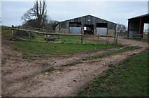 SO6728 : Farm buildings, Kempley by Philip Halling