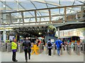 SJ8399 : New Ticket Barriers at Manchester Victoria Station, March 2015 by David Dixon