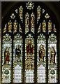 TQ5202 : East window, St Andrew's church, Alfriston by Julian P Guffogg