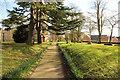 TF0179 : Church path by Richard Croft