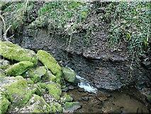 SE0722 : Shale cliff, Maple Dean Clough by Humphrey Bolton