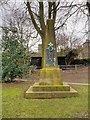 SE1338 : War Memorial at Saltaire Congregational Church by David Dixon