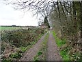 SE4134 : Footpath to Garforth approaching Lily Pit Cottage by Christine Johnstone