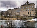 SE1438 : Saltaire Mills North Block (New Mill) by David Dixon