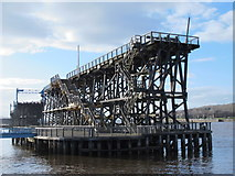 NZ2362 : Dunston Staiths (2) by Mike Quinn