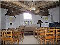 TQ2350 : Inside the Reigate Heath windmill church by Stephen Craven