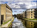 SE1537 : Leeds Liverpool Canal, Junction with Bradford Canal by David Dixon