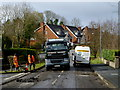 H4672 : Road repairs, Knockgreenan Close, Omagh by Kenneth  Allen