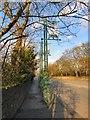 SJ9493 : A560 Gateway signs by Gerald England