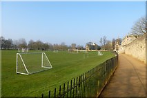 SP5106 : Merton sports fields by DS Pugh
