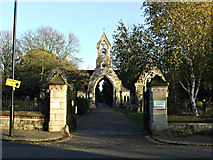 TQ1778 : South Ealing Cemetery by Thomas Nugent