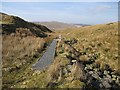 SN7987 : Below Llyn Llygad Rheidol's dam by Rudi Winter