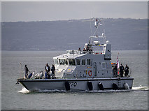 J5082 : HMS 'Biter' off Bangor by Rossographer