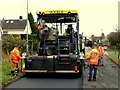 H4672 : Laying tarmac, Knockgreenan, Omagh by Kenneth  Allen
