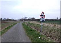TF3686 : Minor road towards Stewton by JThomas