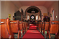 NO8992 : St Ternan's Episcopal Church Nave and Chancel by Anne Burgess