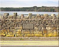 SD7217 : 1833 Datestone on Dam Wall by Gary Rogers
