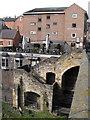 NZ2742 : Bridge House and the Bishop Langley pub, Durham by JThomas