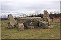 NJ7320 : East Aquhorthies Recumbent Stone Circle (4) by Anne Burgess