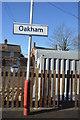 SK8509 : Oakham Station by N Chadwick