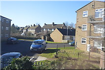 SK8508 : Flats on the edge of Oakham by N Chadwick