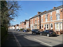 SP4640 : Three-storey terraced housing, Middleton Road by Christine Johnstone
